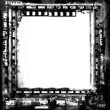 Grunge film frame Royalty Free Stock Images
