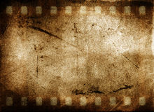 Grunge Film Frame. Grunge and aged Film Frame royalty free illustration