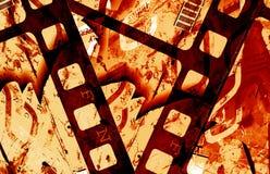 Grunge film frame Royalty Free Stock Image