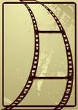 Grunge film frame Stock Images