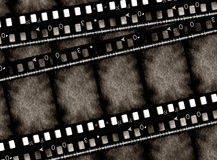 Grunge film frame. 2D digital art Royalty Free Stock Photos
