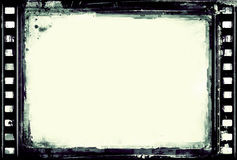 Grunge film frame. Computer designed high resolution grunge film frame with space for your text or image. Great grunge layer for your projects Stock Image