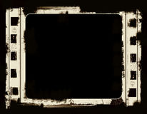 Grunge film frame. Computer designed highly detailed film frame with space for your text or image.Nice grunge element for your projects Stock Images