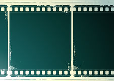 Grunge film frame. Editable vector background - grunge film frame with space for your text or image Stock Images