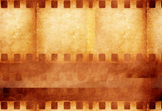 Grunge film frame. 2D art Stock Photos