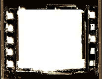 Grunge film frame Royalty Free Stock Photos