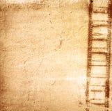 Grunge Film Frame effect Stock Image
