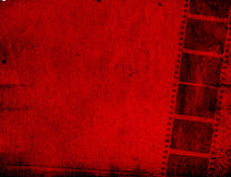 Grunge Film Frame effect. Great film strip for textures and backgrounds frame -with space for your text and image Royalty Free Stock Photos
