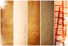 Grunge Film Frame effect Royalty Free Stock Images