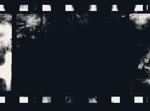 Grunge film frame Stock Photography