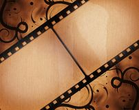 Grunge film frame. High detailed grunge film frame with space for your text or image Royalty Free Stock Images