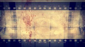 Grunge film frame with space for text or image Stock Photos