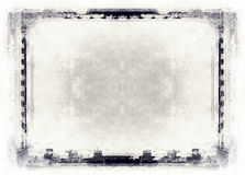 Grunge film frame with space for text or image Royalty Free Stock Photos