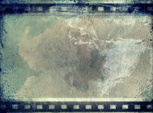 Grunge film frame with space for text or image. High detailed grunge film frame,border,background or texture with space for your text or image Stock Images