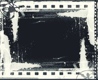 Grunge film frame with space for text or image. High detailed grunge film frame with space for your text or image Royalty Free Stock Photos