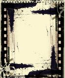 Grunge film frame with space for text or image. High detailed grunge film frame with space for your text or image Royalty Free Stock Image