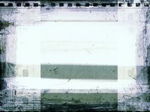 Grunge film frame with space for text or image. High detailed grunge film frame with space for your text or image Royalty Free Stock Photo