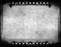 Grunge film frame with space for text or image Royalty Free Stock Images