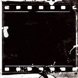 Grunge film frame with space for your text Stock Images