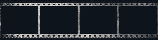 Grunge film frame with space for your text Royalty Free Stock Photo