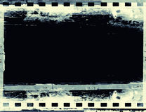 Grunge film frame with space for your text Royalty Free Stock Photography