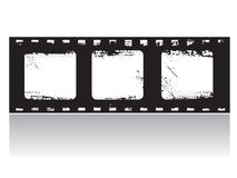 Grunge Film Frame (vector). A Grunge Film Frame (vector Stock Photos