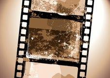 Grunge Film pattern. Vector illustration of  Grunge Film pattern Stock Image