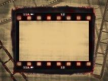 Grunge film poster Stock Image