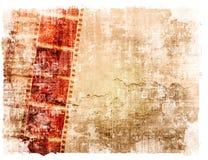 Grunge Film-Streifenhintergründe Stockbilder