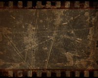 Grunge film strip Stock Photo