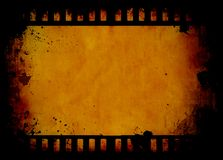 Grunge film strip Stock Image