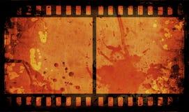 Grunge film strip Stock Photos