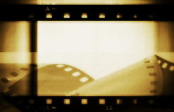 Grunge film strip Royalty Free Stock Photography