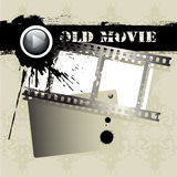 Grunge film strip Stock Images