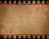 Grunge film strip Royalty Free Stock Photos