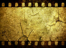 Grunge film strip background. Vintage grunge film strip background Stock Photos