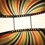 Grunge film strip background. Vector, EPS10 Stock Image