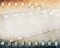 Grunge film strip background Royalty Free Stock Images