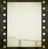 Grunge film strip background Stock Images