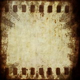 Grunge film strip background Stock Photography