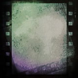 Grunge film strip Royalty Free Stock Image