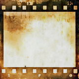 Grunge film strip background Stock Photo