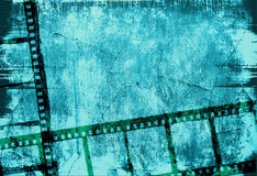 Grunge film strip backgrounds Royalty Free Stock Photography