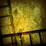 Grunge film strip backgrounds Stock Image
