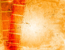 Grunge film strip backgrounds. Great film strip for textures and backgrounds-with space for your text and image Royalty Free Stock Photo