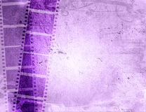 Grunge film strip backgrounds. Great film strip for textures and backgrounds-with space for your text and image Stock Images