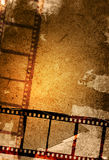 Grunge film strip backgrounds. Great film strip for textures and backgrounds-with space for your text and image Royalty Free Stock Images