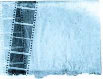 Grunge film strip backgrounds Stock Image