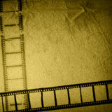 Grunge film strip backgrounds. Great film strip for textures and backgrounds-with space for your text and image Royalty Free Stock Image