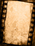 Grunge film strip backgrounds. Great film strip for textures and backgrounds-with space for your text and image Royalty Free Stock Photography